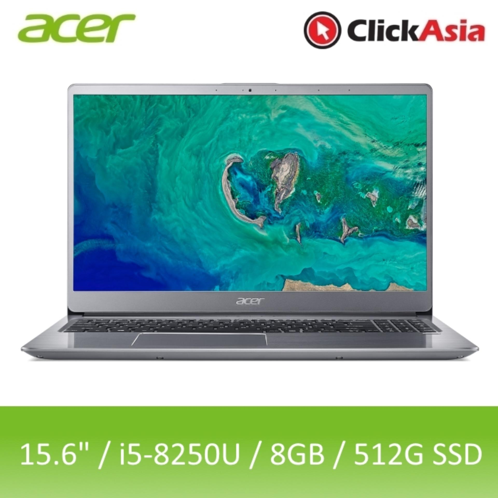 Acer Swift 3 (SF315-52G-57GG) - 15.6 FHD/i5-8250U/8GB DDR4/512GB SSD/Nvidia MX150/W10 (Silver)