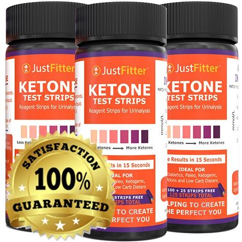 Price Ketone Test Strips 3 Bottles Testing Levels Of Ketones Suitable For Diabetics Low Carb Fat Burning Dieters 100 25 Get On Track With Ketogenic Paleo Diabetic Or Atkins Diet For Ketosis Just Fitter New