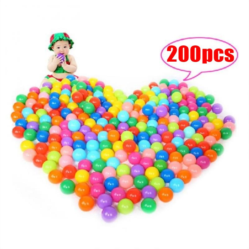 Wholesale 200 Pcs Ocean Wave Ball Children Park Color Ball Thick Naughty Fortball Softball Intl