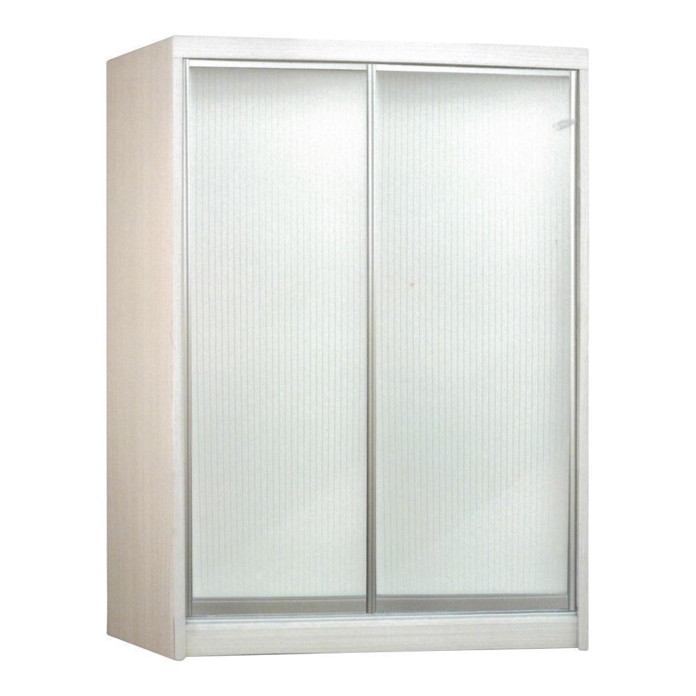 [NEW] Brandy White Wash 2 Door Sliding Wardrobe - Furniture warehouse