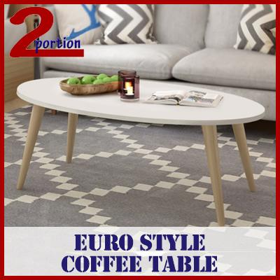 Euro Style Coffee Table / Living Room / Modern Style By 2 Portion.
