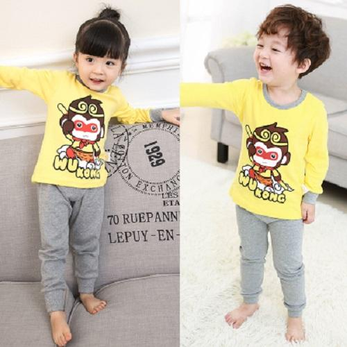 Big Kids Pyjamas /children Family Couple Pyjamas Set Up To Size 180cm Boys Girls [pjn03] By Jolly Sg.