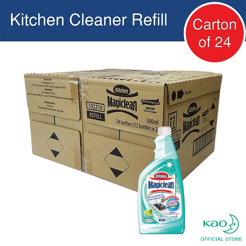 Magiclean Kitchen Refill Lime 50ml (carton Of 24) By Kao.