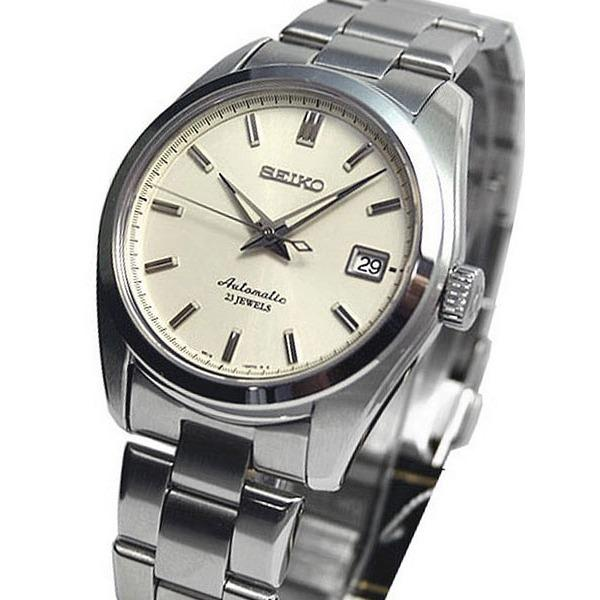 Brand New Seiko Mini Grand Seiko 6R15 Movement White Dial Automatic Mens Dress Watch Sarb035 Compare Prices
