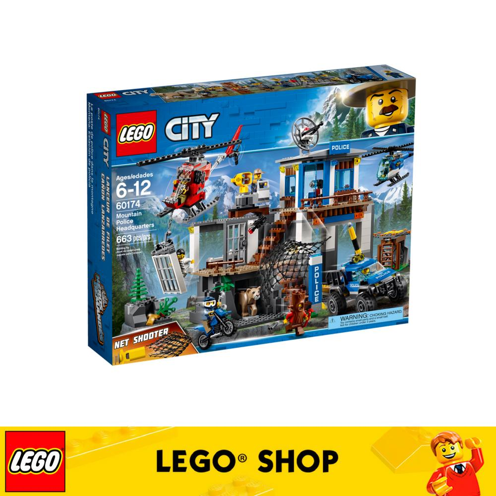 LEGO City Police Mountain Police Headquarters - 60174