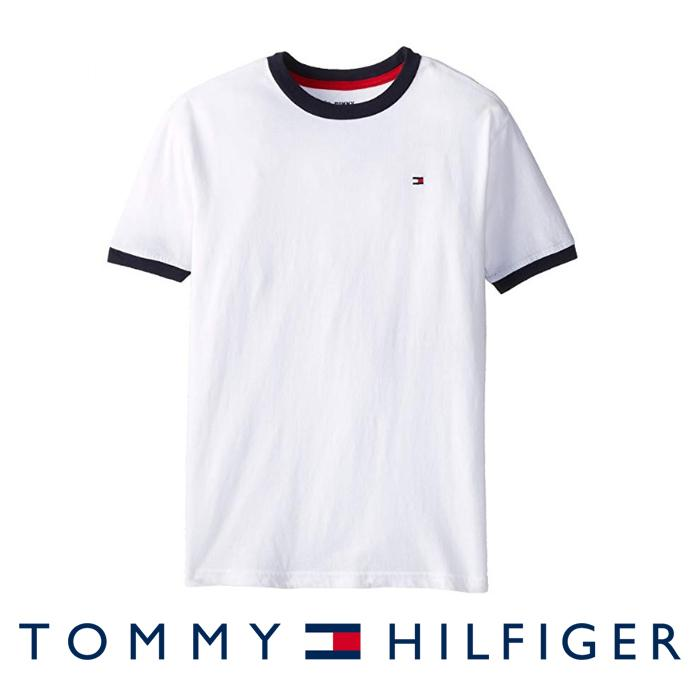 2c57a0198e7 Tommy Hilfiger Boys Core Crew-Neck Ken T-Shirt For Big Boys - Classic