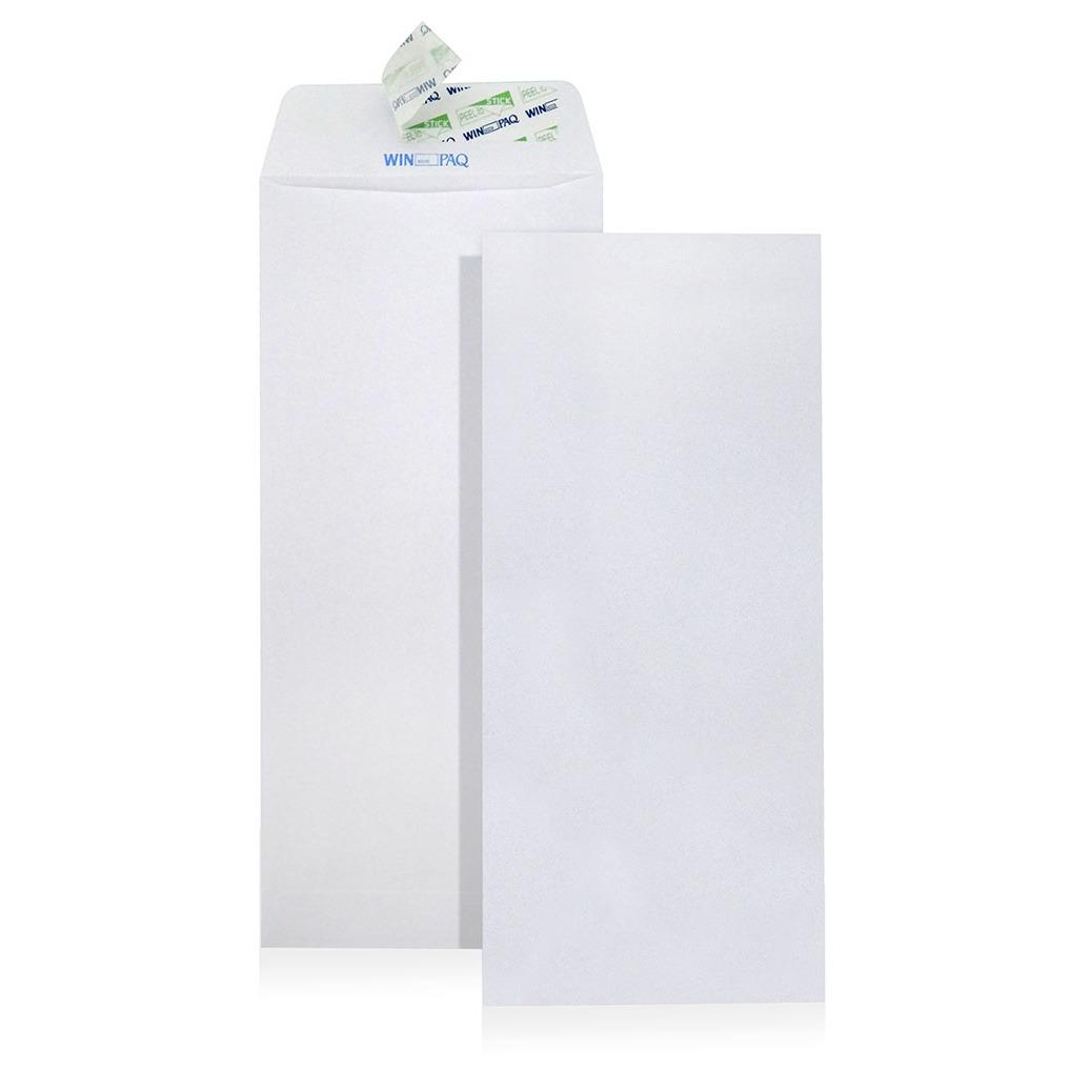 Coupon 100Pcs White Paper Envelopes Non Window Dl