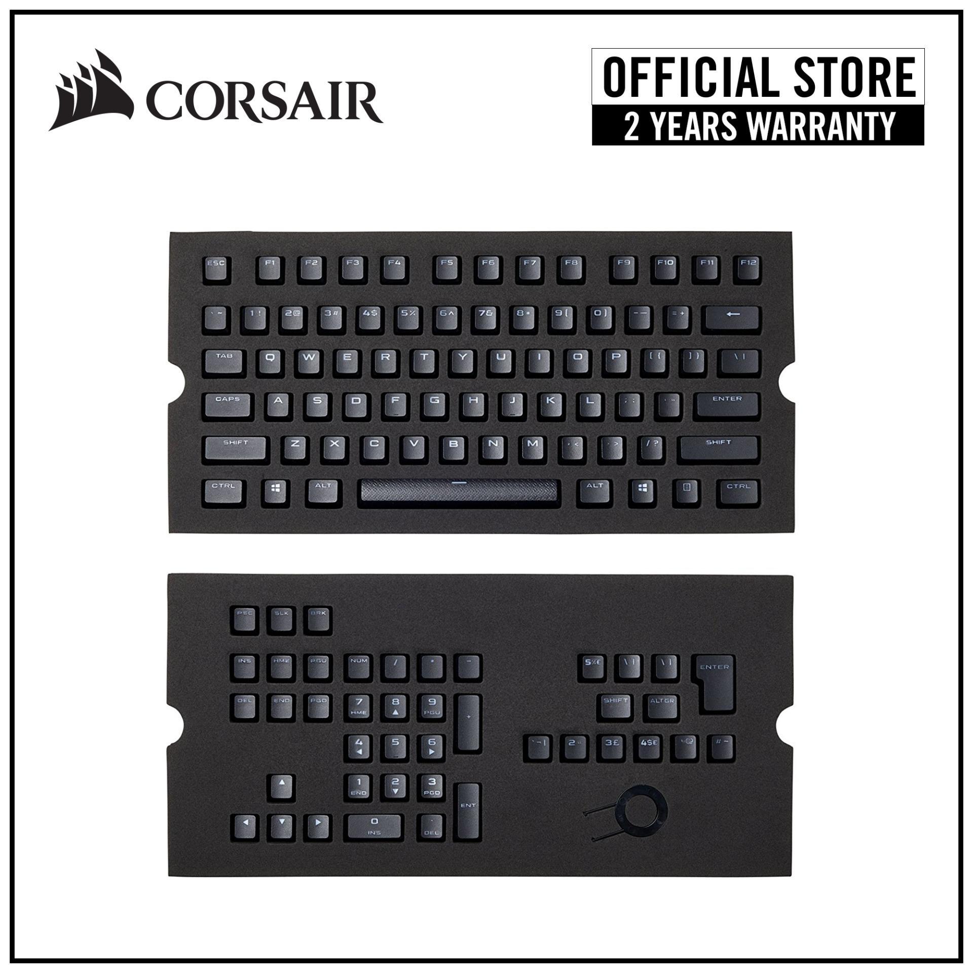 CORSAIR Gaming PBT Double-shot Keycaps Full 104/105-Keyset