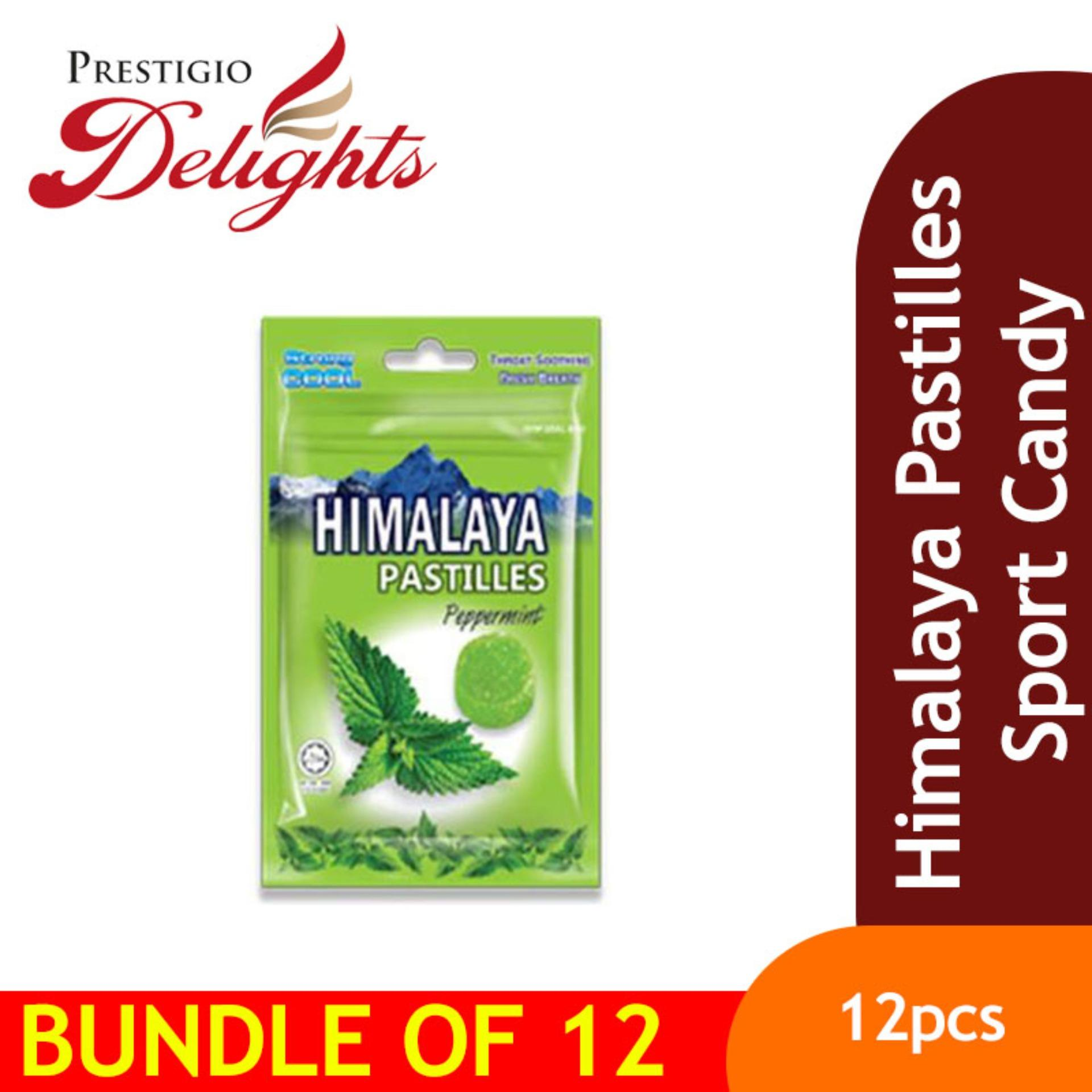 Himalaya Pastilles Sport Candy 12 Packet Per Box Sales By Prestigio Delights.