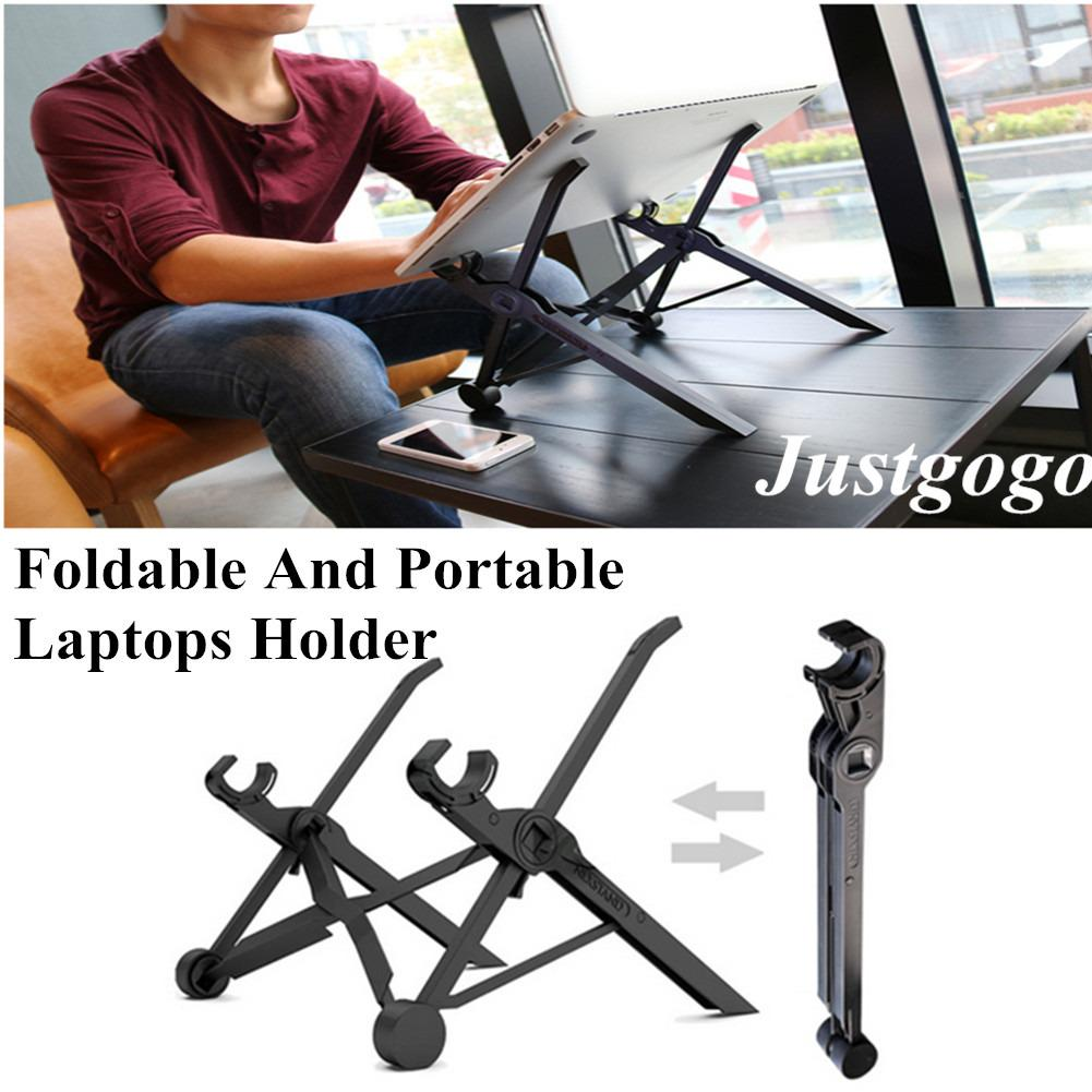 Justgogo NEXSTAND Foldable Laptop Stand ,Adjustable Height,For laptops of 11.6inch and above size