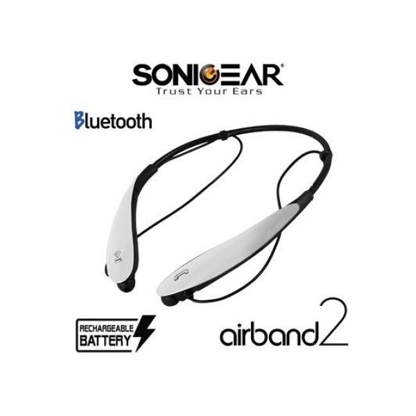 Airband 2 Bluetooth Headset (White) Singapore
