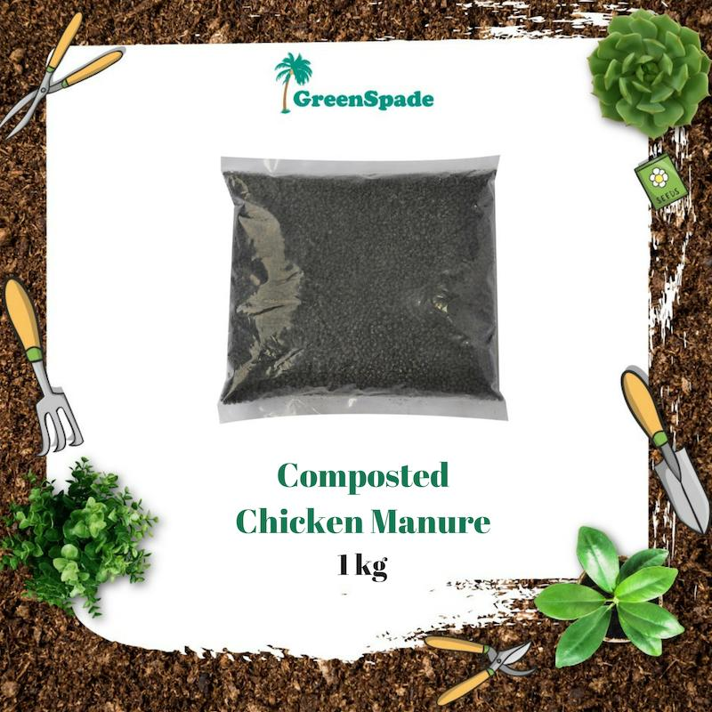 Green Spade Chicken Manure Fertiliser 1KG