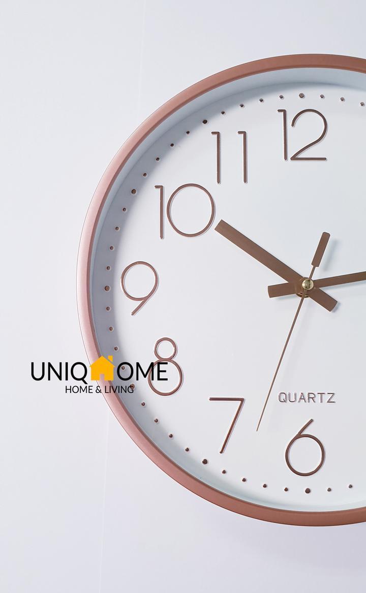Japan Premium Clock Matt Finish Wall Clocks by UniqHome
