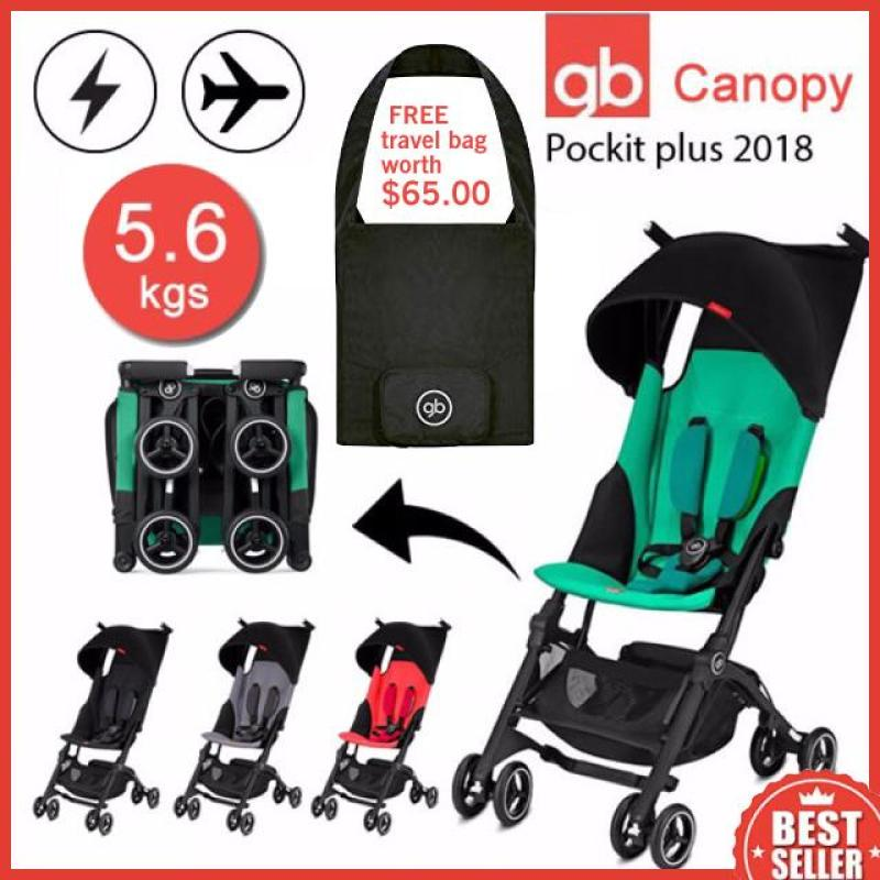 GoodBaby Pockit+ Stroller 2018 (4 colors available) - FREE TRAVEL BAG worth $65 Singapore