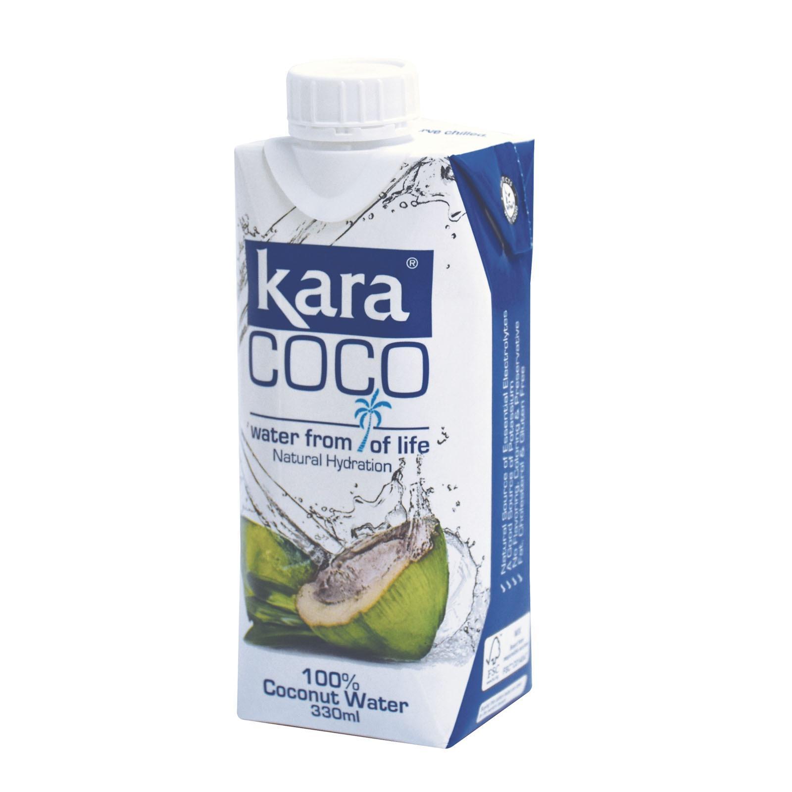 Buy Coconut Water Kara 330Ml X 12 On Singapore