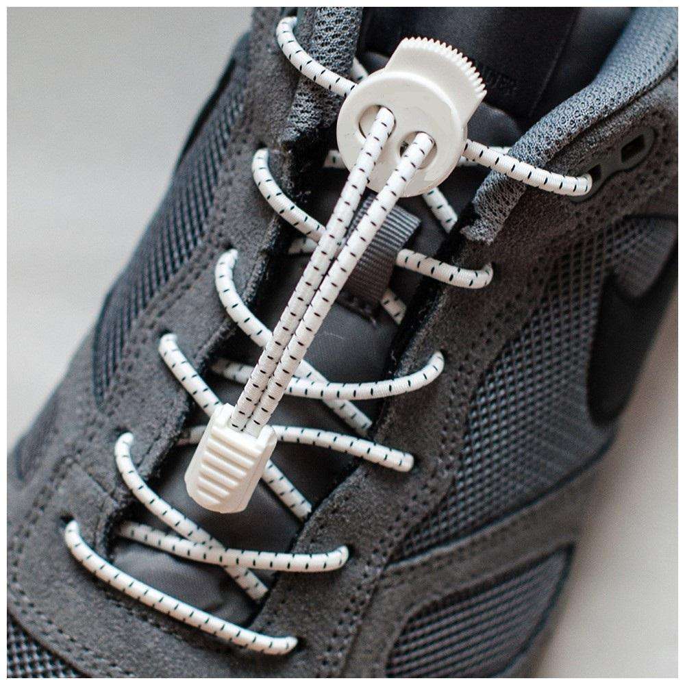 I-Run Elastic Running Shoe Laces By Aqua And Leisure Sports.