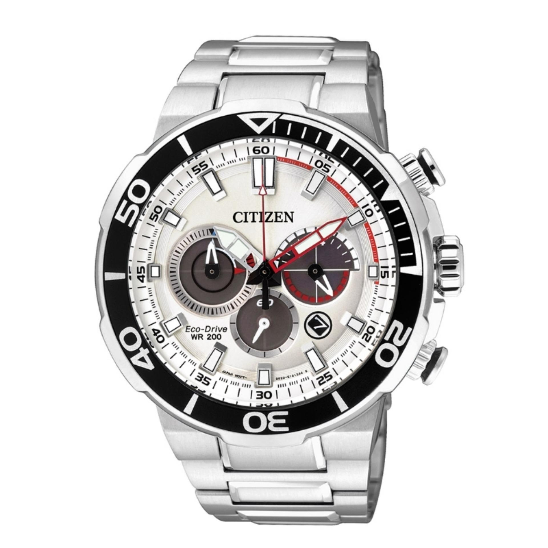 Citizen Eco Drive Men Chronograph Black Price In Singapore Ca4285 50h Gents Watch Ca4250 54a