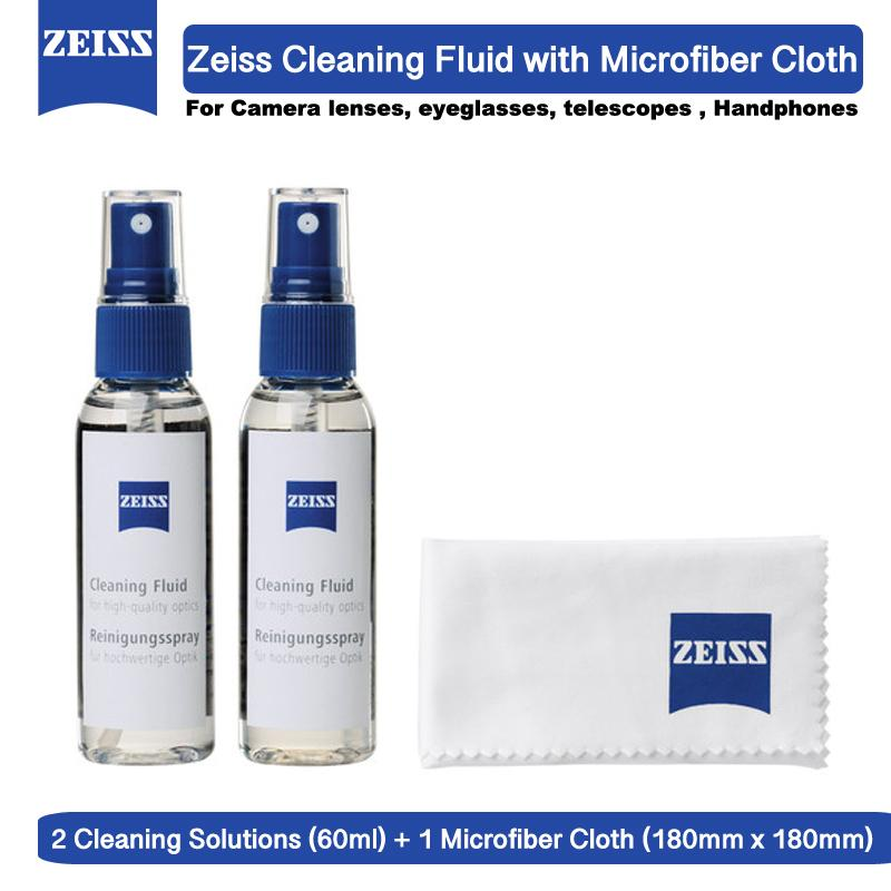 Zeiss Cleaning Fluid with Microfiber Cloth for Camera lens Desktop and others precision optics
