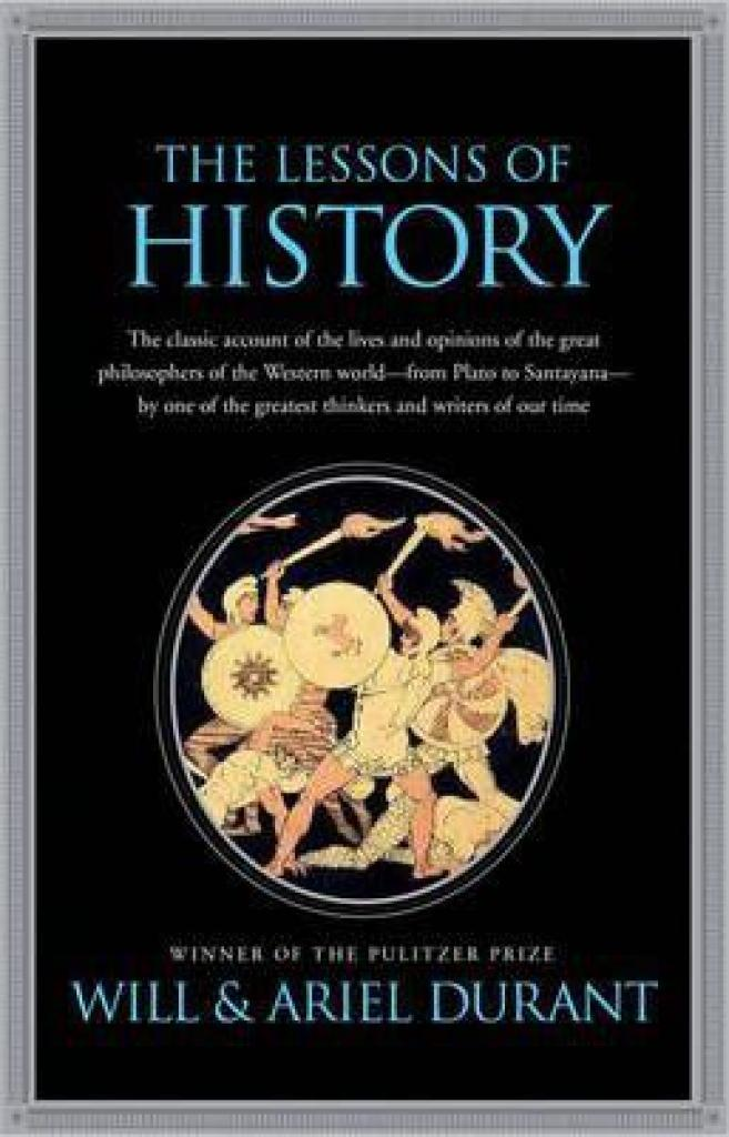 Lessons of History (Author: Will Durant, ISBN: 9781439149959)