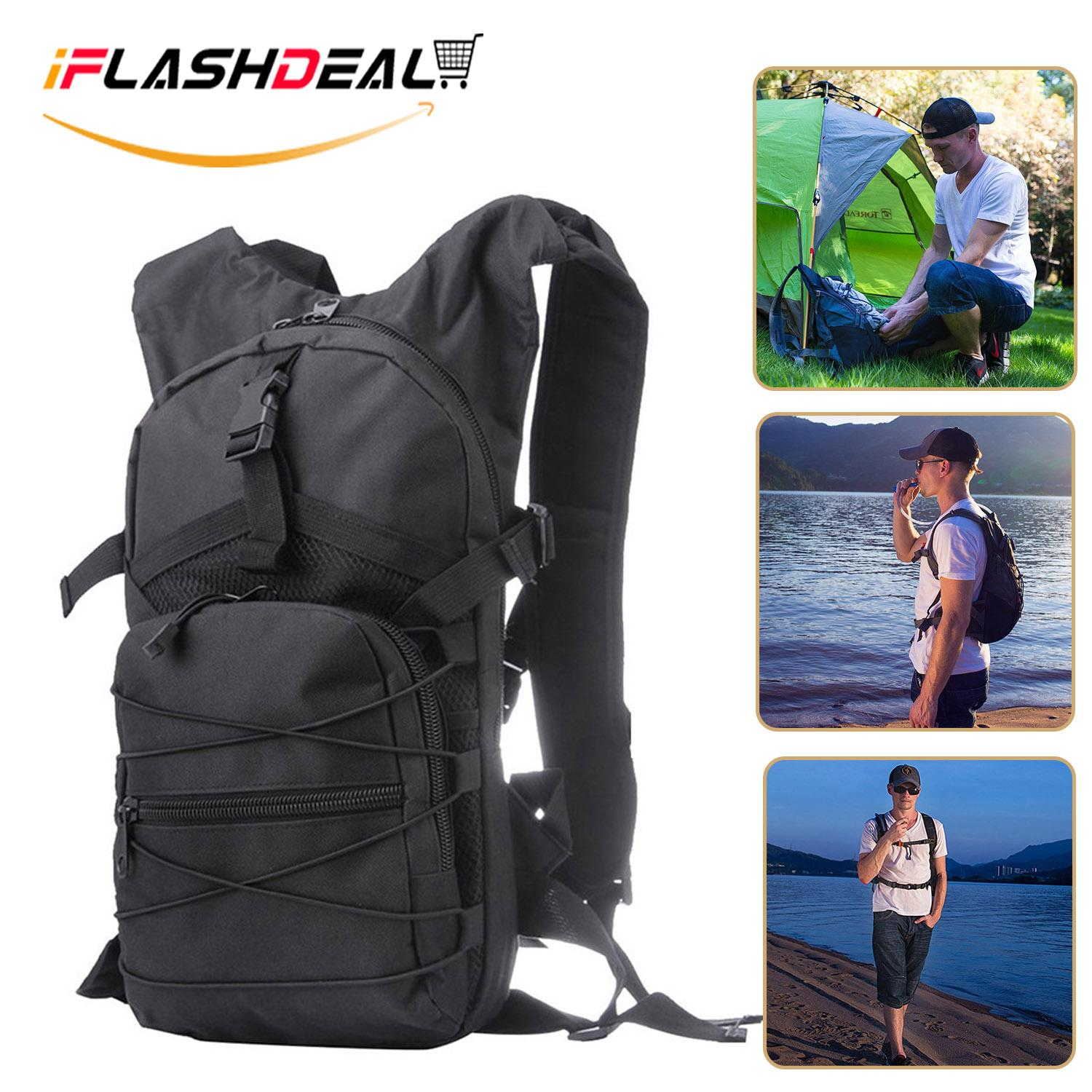 Iflashdeal Hiking Backpack, Water-Resistant Travel Cycling Backpack, Lightweight Back Pack For Outdoor, Camping 15l By Iflashdeal.