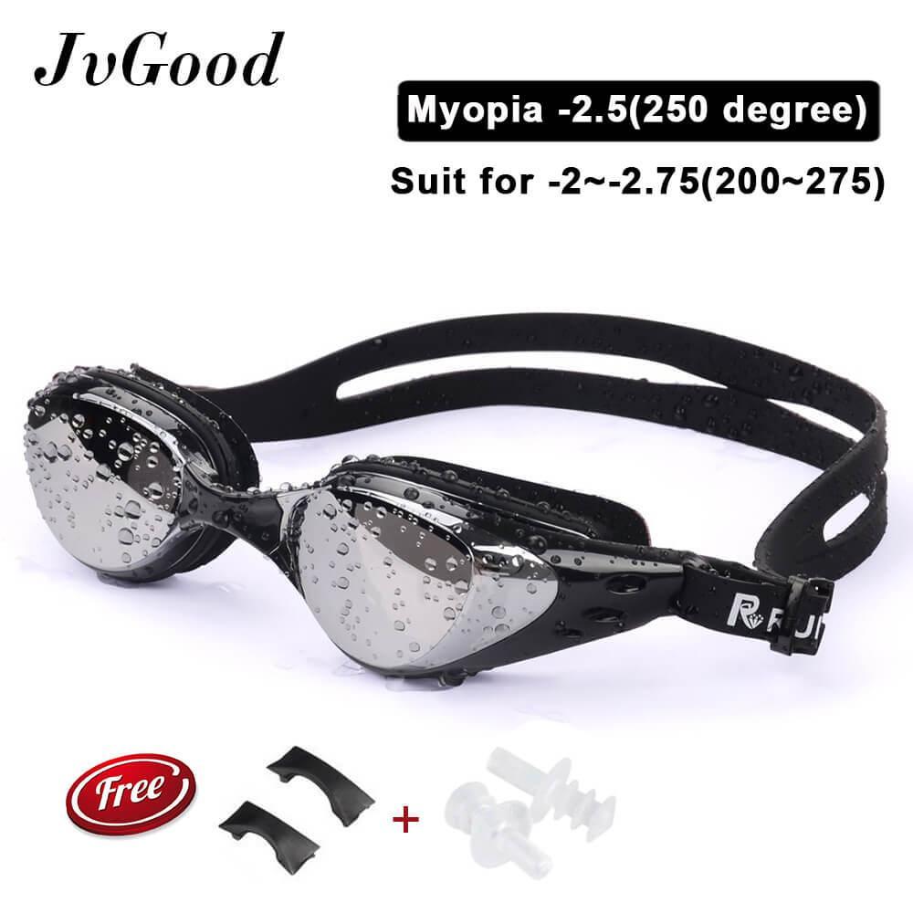 815915256f JvGood Myopia Swim Goggles(-200 ~ -500)