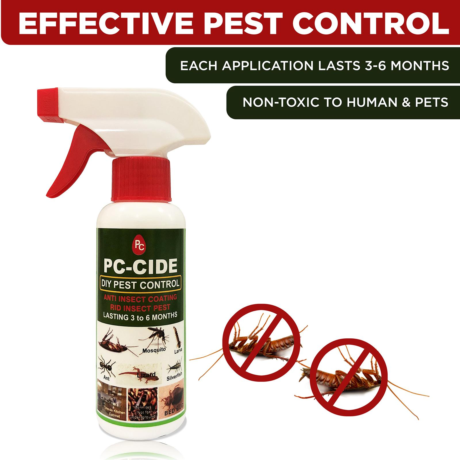 Pc-Cide Diy Pest Control Treatment 160ml By Corlison.