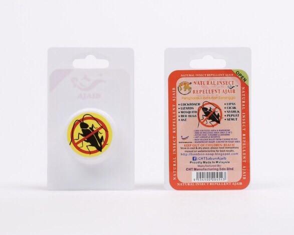 Natural insect repellent (3 pcs)
