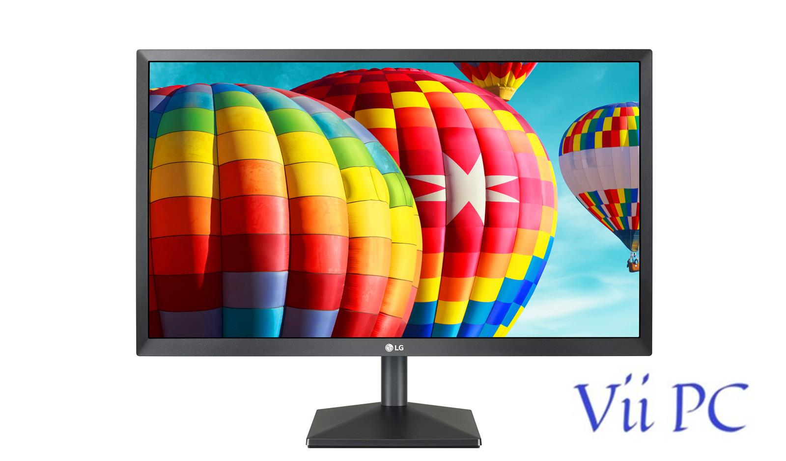 LG 24MK430H-B 24 IN IPS 75Hz AMD FreeSync Wall Mount Supported HDMI Cable Including Gaming Monitor