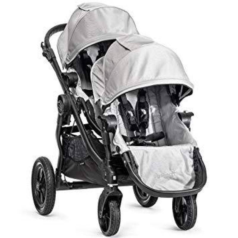 Baby Jogger City Select Stroller with 2nd Seat (Silver) Singapore