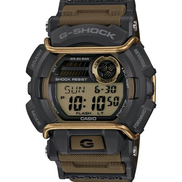 Get Cheap Brand New Casio Gshock Olive Green Strap With Bull Bars Digital Watch Gd400 9Dr