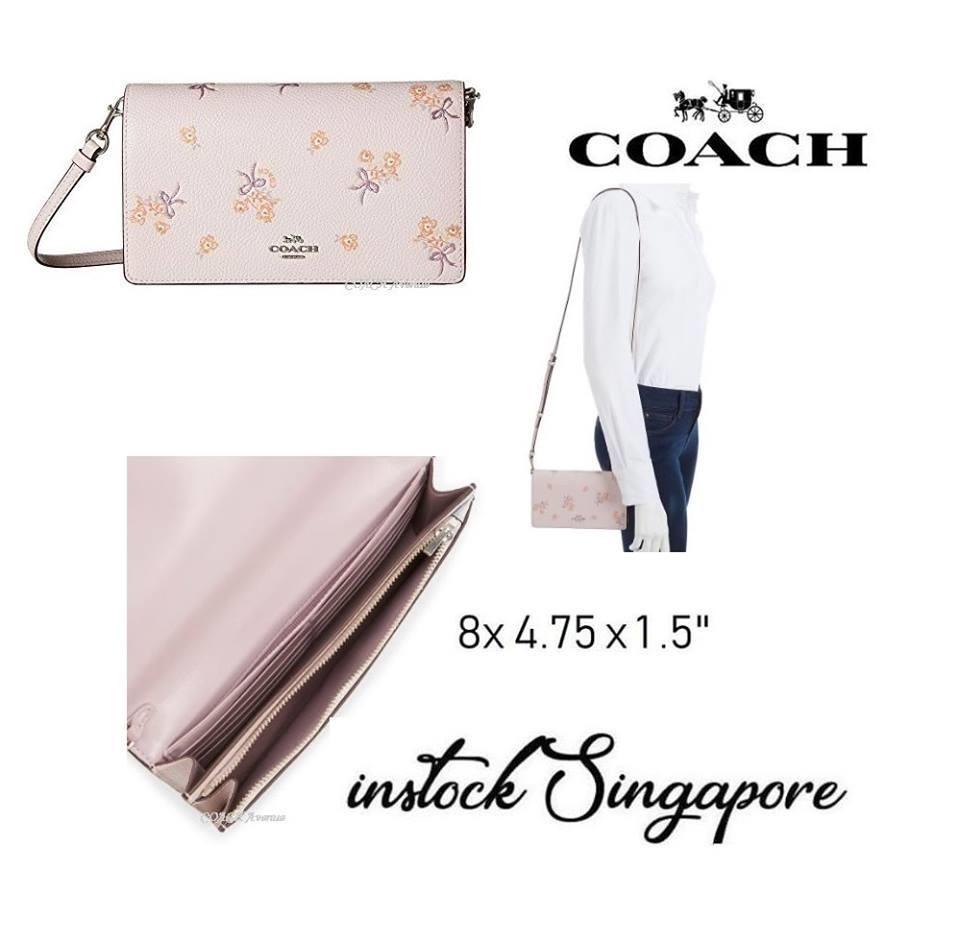 Latest Coach Women Cross Body Shoulder Bags Products Enjoy Huge Mini Christie Signature Crossbody Hayden Foldover Clutch With Floral Bow Print