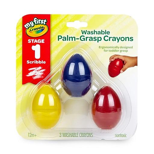 Crayola Palm Grip Egg Crayons Best Buy