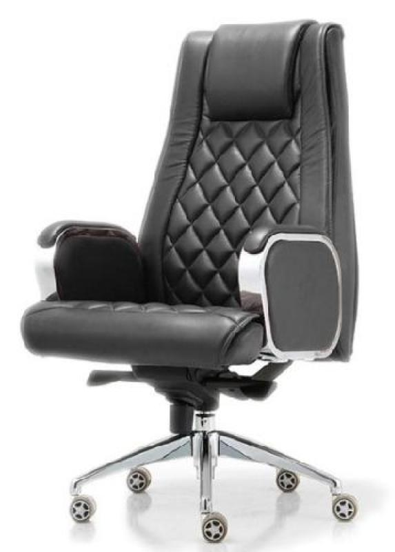 JIJI (Free Installation) (Office President Chair V3 ) (Home Office Chair)Supreme ★Leather ★Office Furniture ★Grand ★Ergonomic ★Quality / Free 12 Months Warranty (SG) Singapore