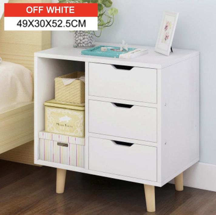 Latinos Bedside Extended Cabinet (Free Installation & 12 Months Warranty)