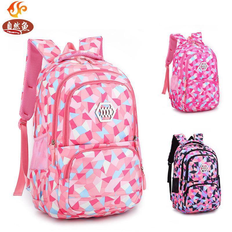 Chilrens School Bag students Girls Lightweight Backpack DJ8