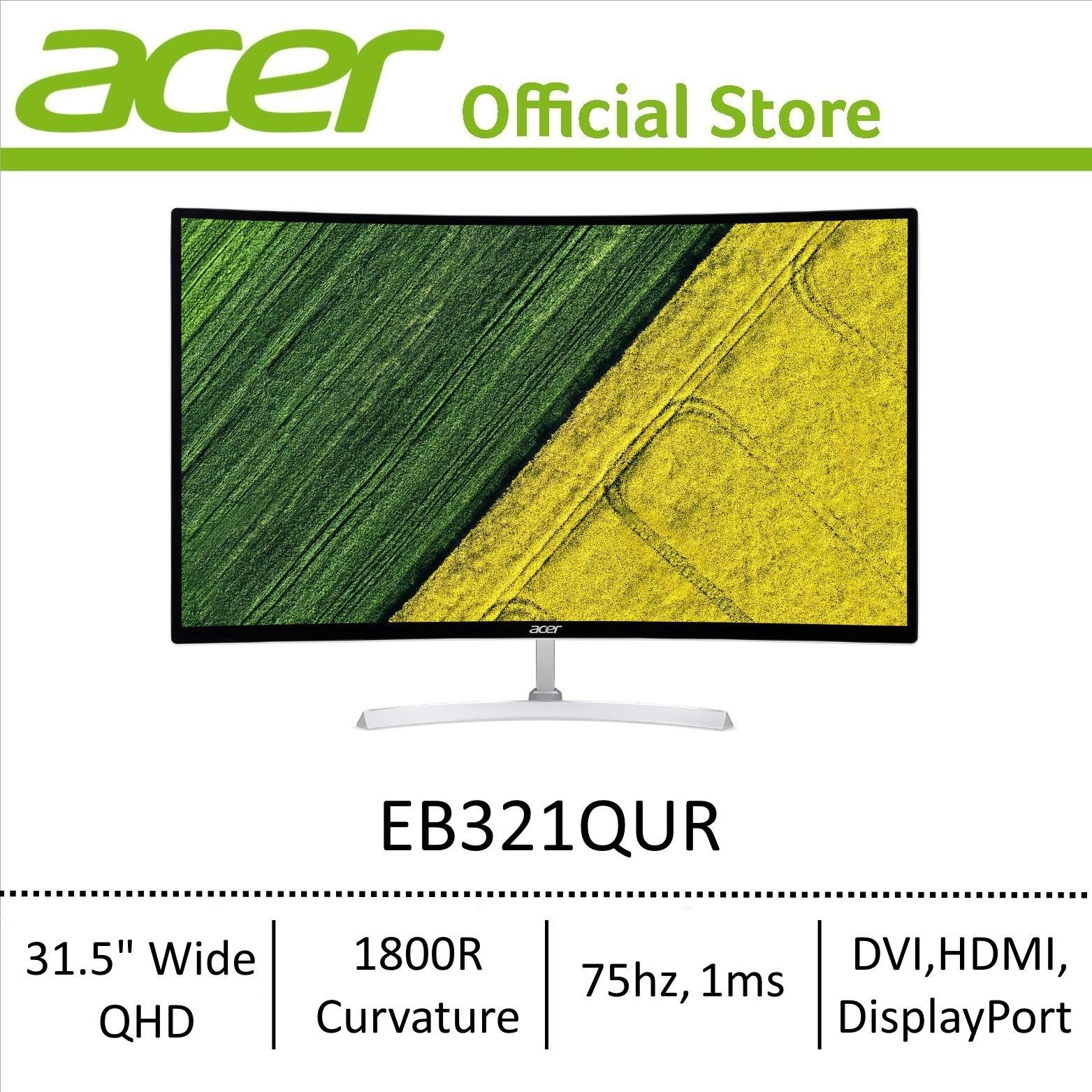 [NEW] Acer EB321QUR 31.5 Wide QHD Curved Monitor