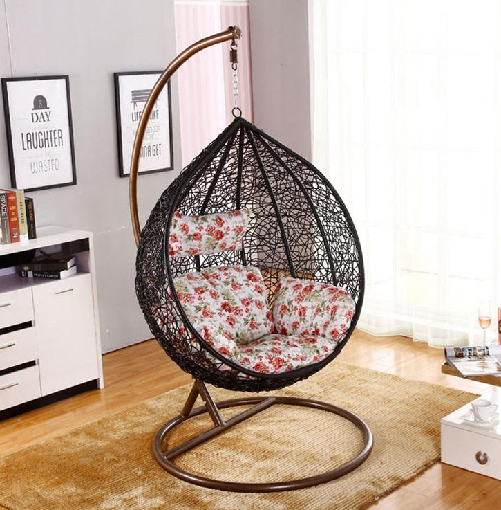 [Local Ready Stock] Weather Proof Outdoor / Indoor Hanging Swing Chair [Balcony/Garden/Living Room]
