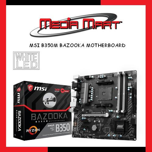 Price Comparison For Msi B350M Bazooka Motherboard
