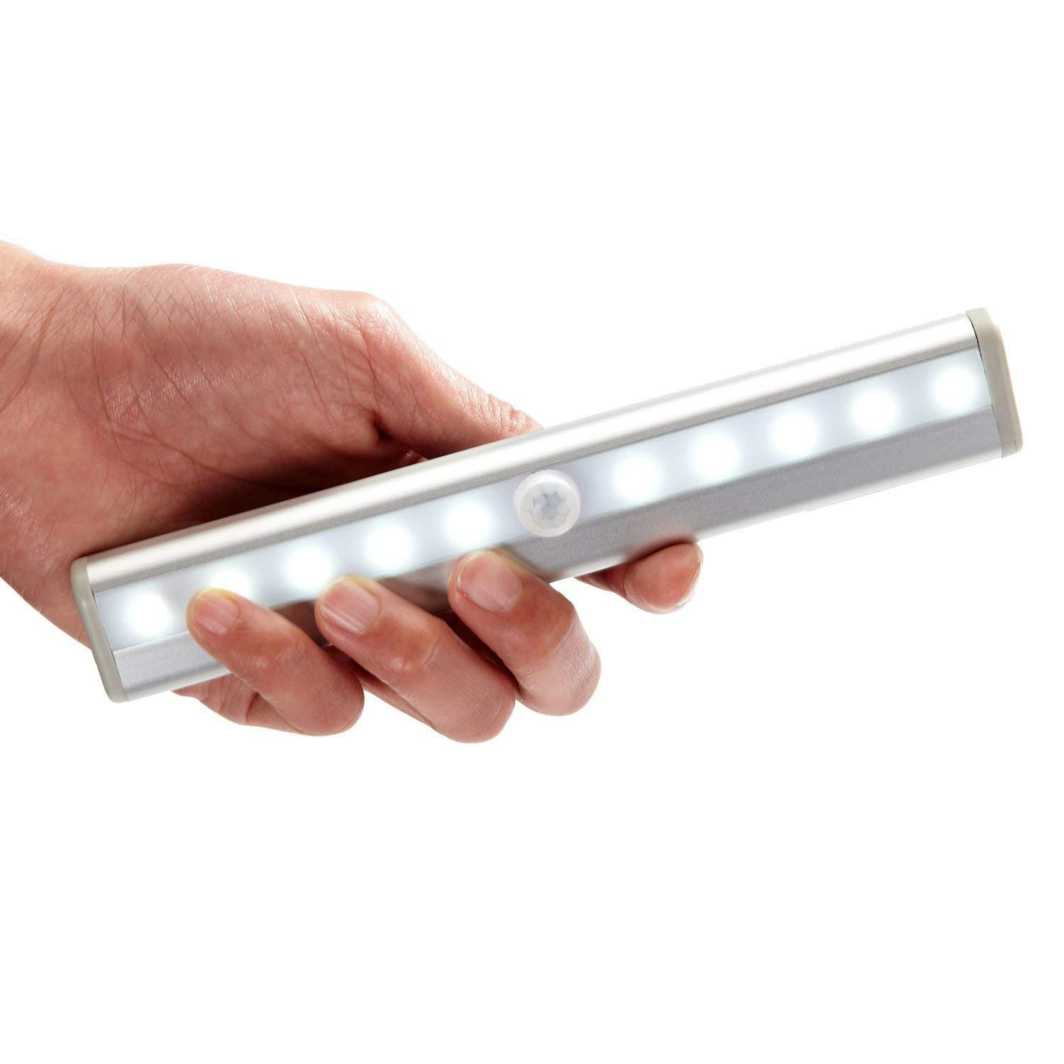 Rechargeable Bathroom Light Motion Sensor Led Wardrobe Night Light Stick On Magnetic Strap For Easy Removal No Wiring Specialty Lighting To Decor Your Home Singapore