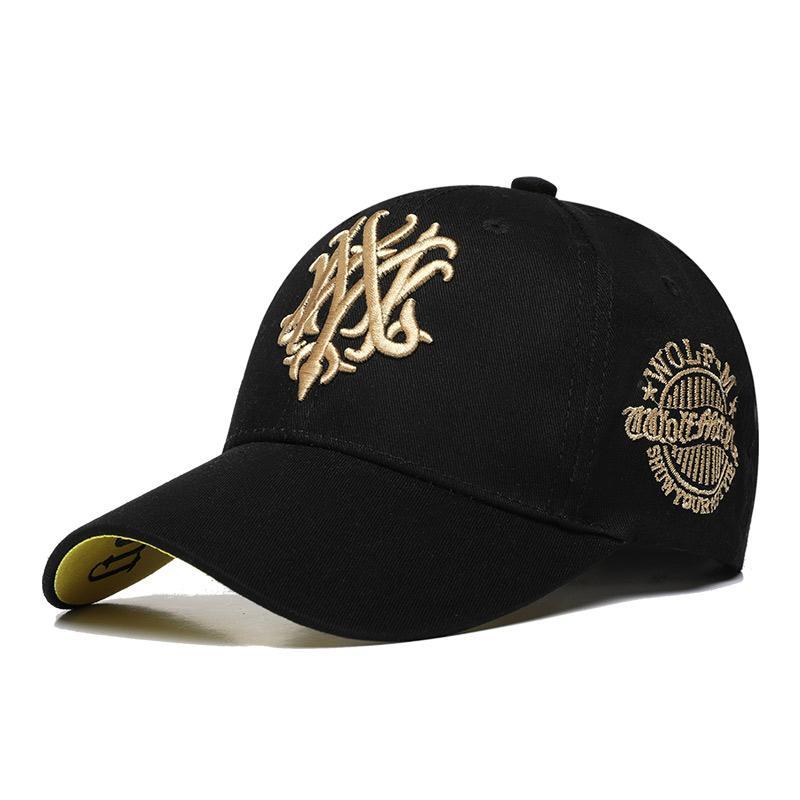 2d232ae2f4751 China. ANAY Cotton Black Seball Cap Leisure Men Sport Cap Summer  Quick-drying Sun Hat UV