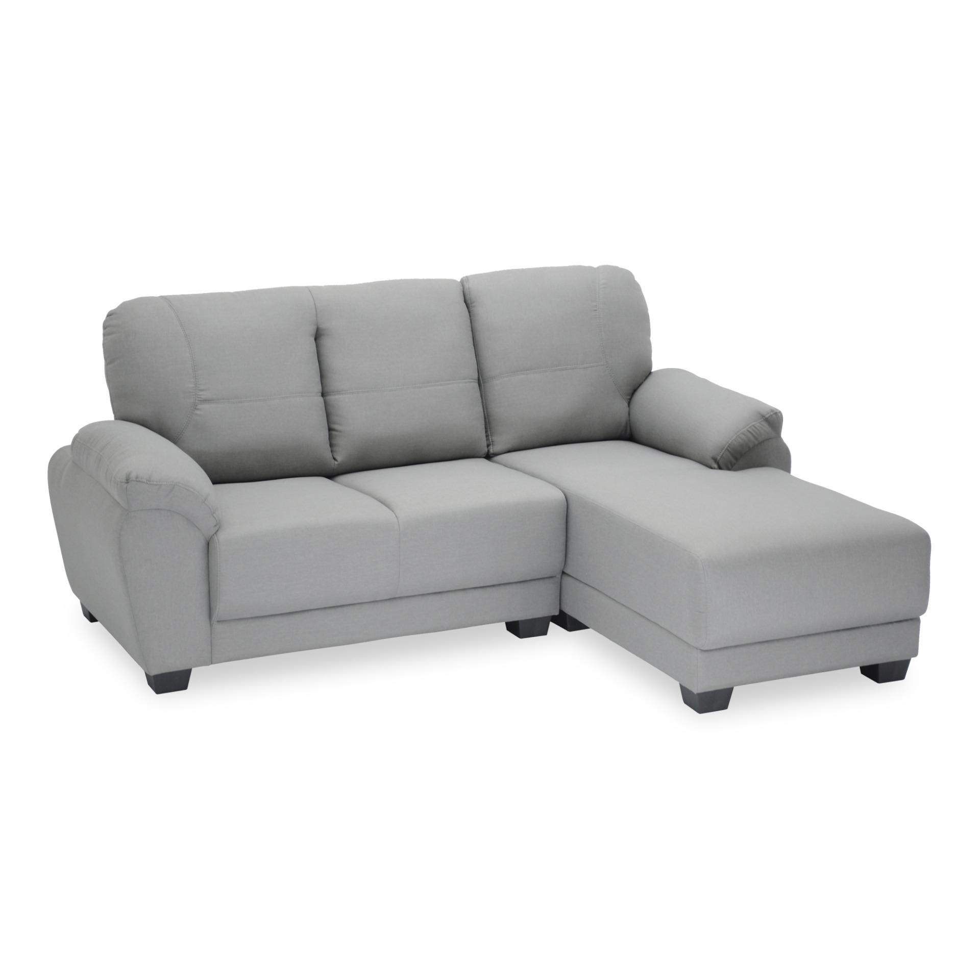Dario 2 Seater L-Shape PVC Sofa (FREE DELIVERY)(FREE ASSEMBLY)