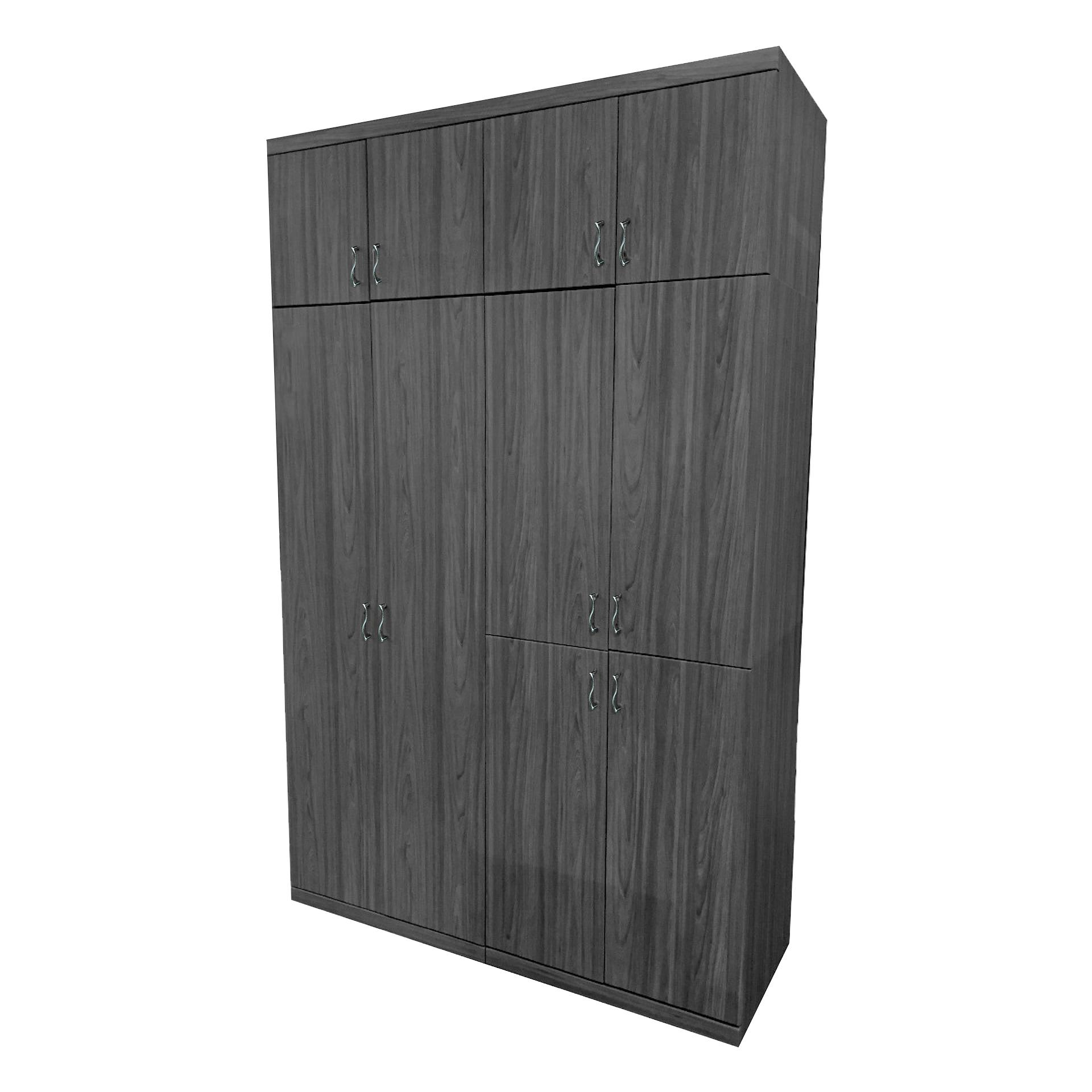[A-STAR] Mason 10 Door Wardrobe Cabinet in Ash Grey (NEW!!)
