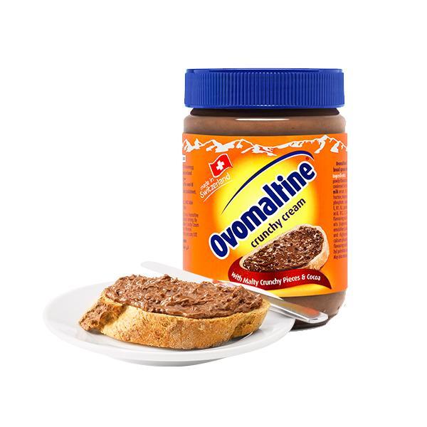 Ovomaltine Crunchy Cream 380g! Bundle Of 2 By Choco Express (capitaland Merchant).