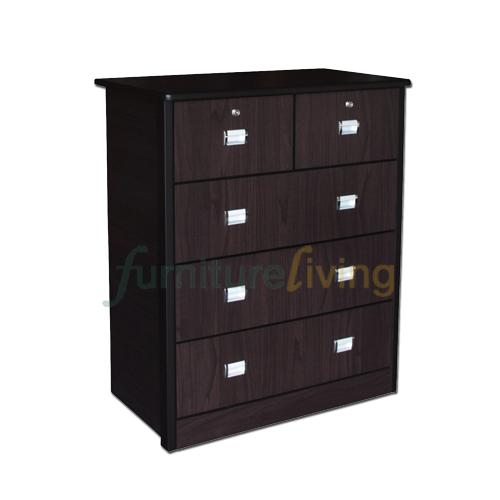 Buy Furniture Living Chest Of Drawers Walnut Furniture Living Online