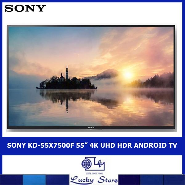 "SONY KD-55X7500F 55"" 4K UHD HDR ANDROID TV"