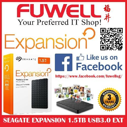 Review Seagate Expansion 1 5Tb Usb3 Ext Hdd Seagate