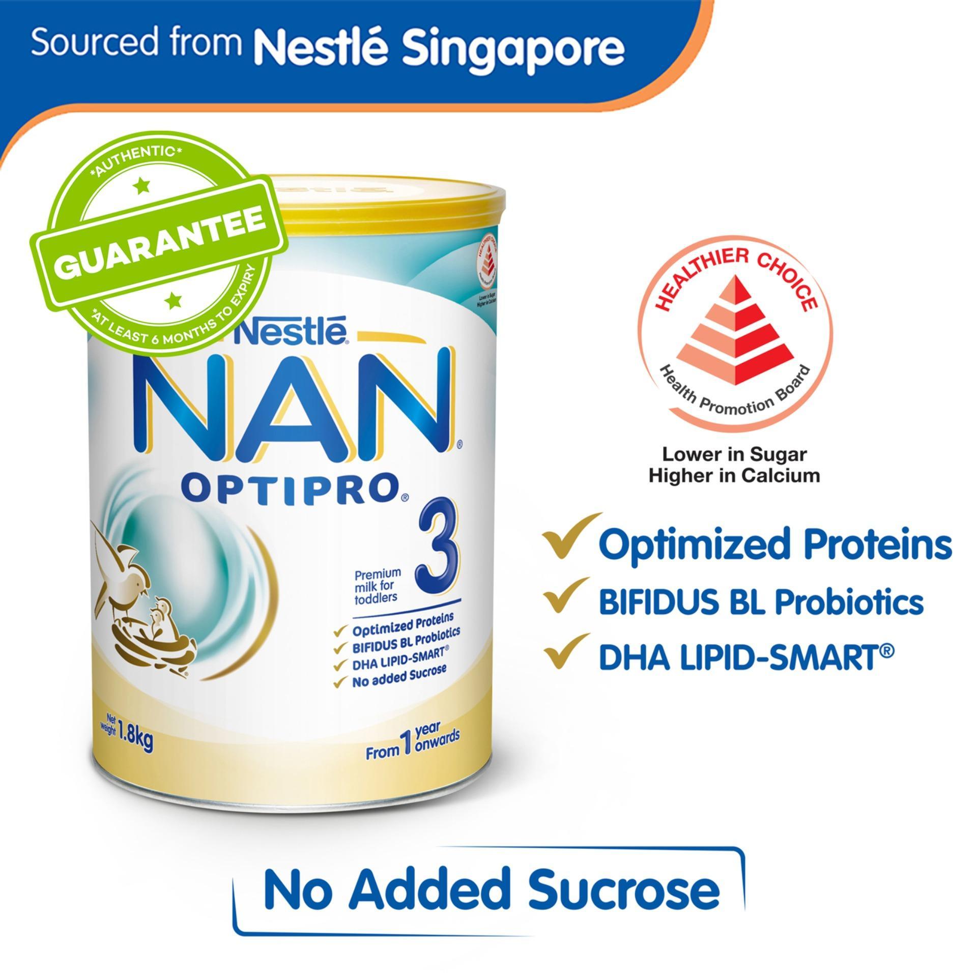 Buy Nestle Nan Growing Up Milk Feeding Lazada Ph Pro 2 800g Optipro 3 18kg