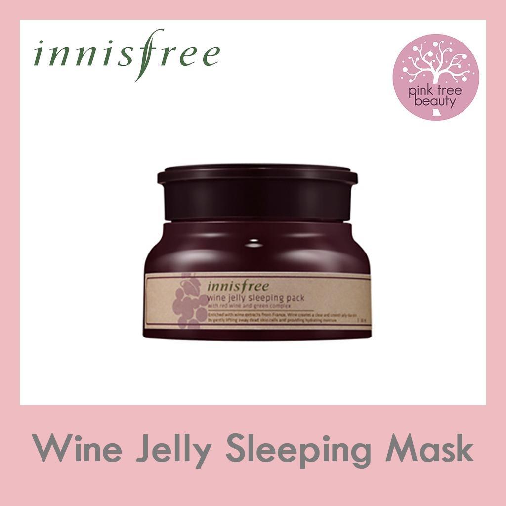 Best Rated Innisfree Wine Jelly Sleeping Mask
