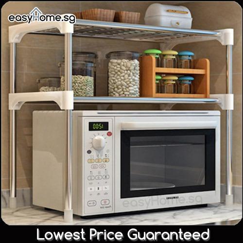 Lowest Price Microwave Rack Z002 Z103 Kitchen Home Organization Space Saving Storage Shelf