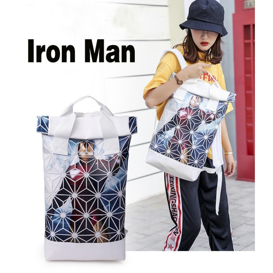 Adidas Issey Miyake Iron Man Backpack Bag Ready Stocks